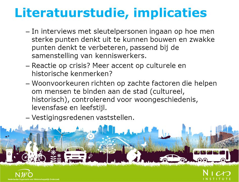 Literatuurstudie, implicaties