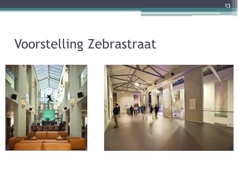 Voorstelling Zebrastraat