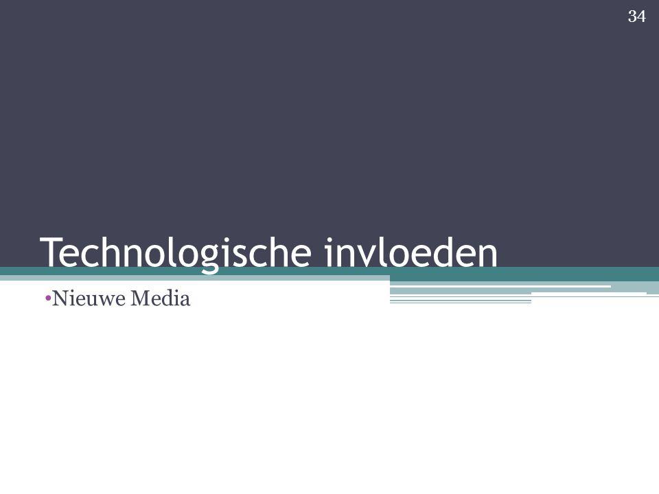 Technologische invloeden