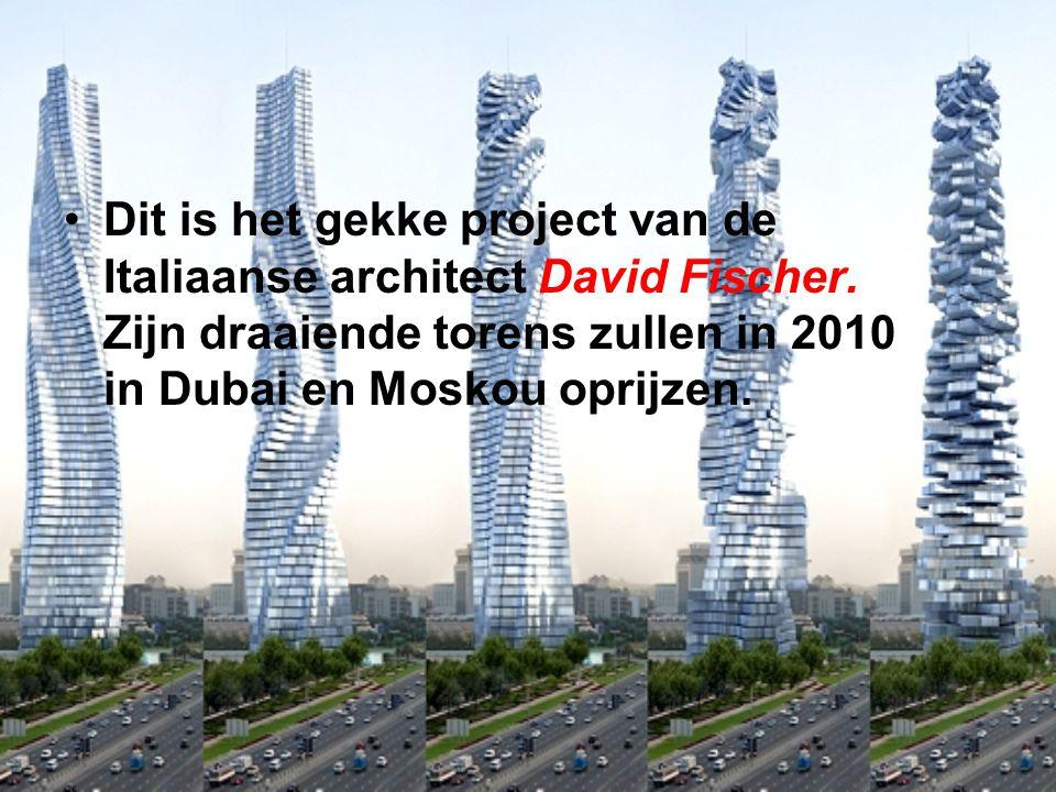 Dit is het gekke project van de Italiaanse architect David Fischer
