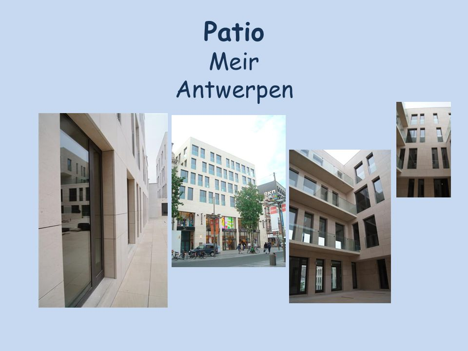 Patio Meir Antwerpen