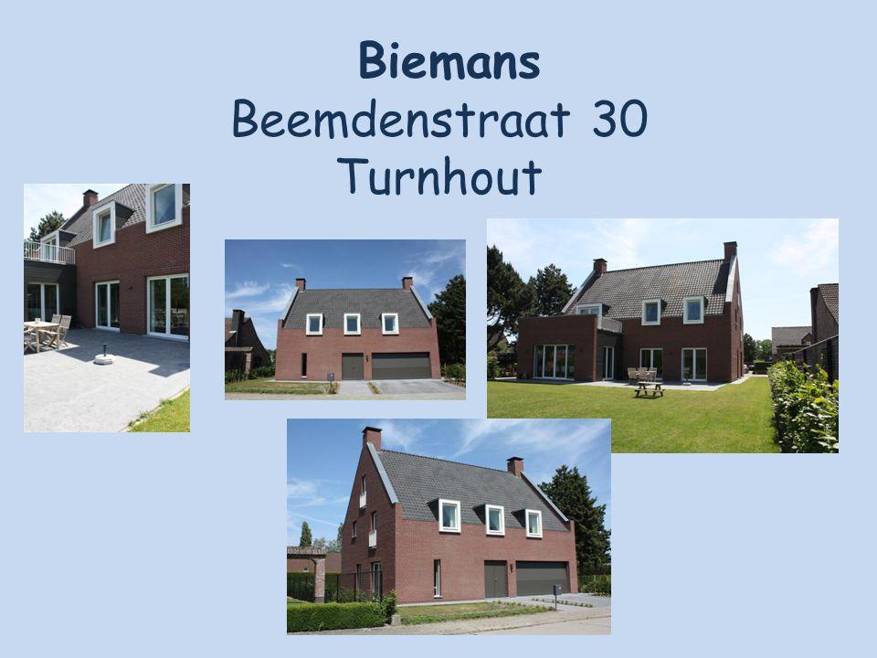 Biemans Beemdenstraat 30 Turnhout