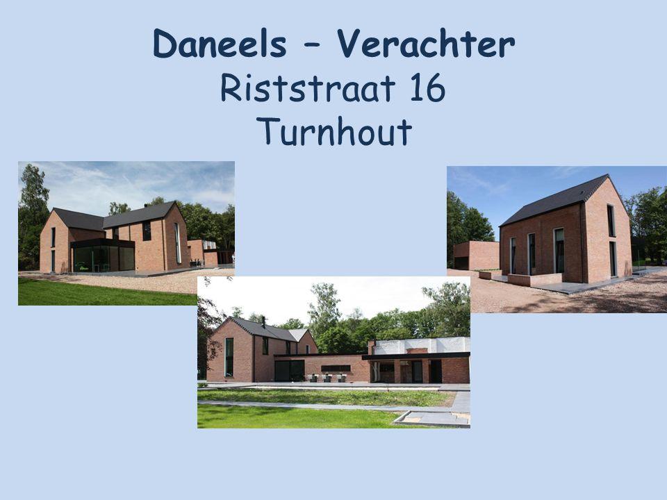 Daneels – Verachter Riststraat 16 Turnhout