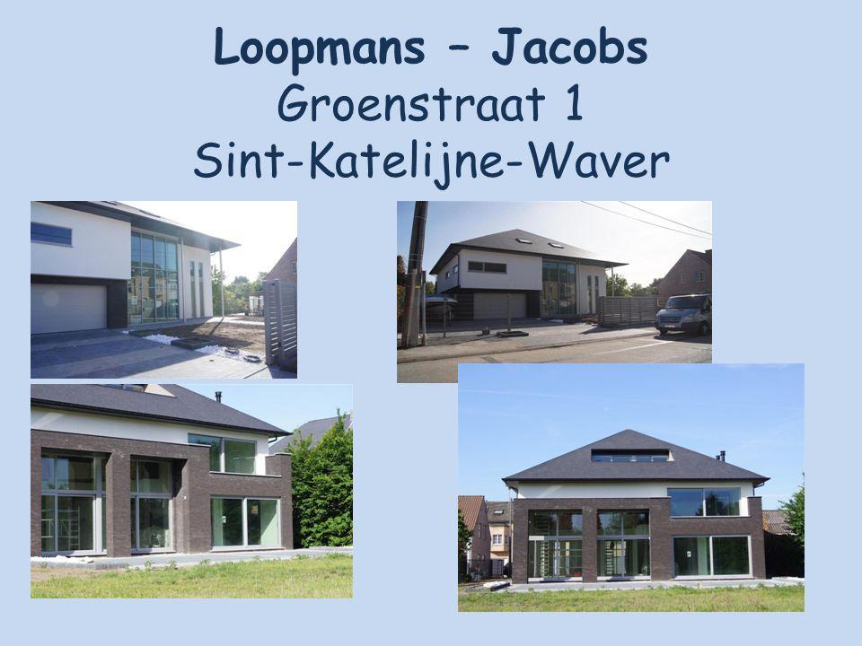 Loopmans – Jacobs Groenstraat 1 Sint-Katelijne-Waver