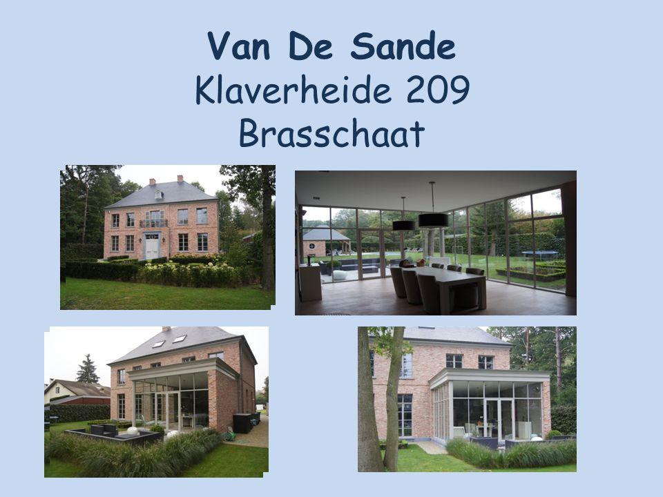 Van De Sande Klaverheide 209 Brasschaat