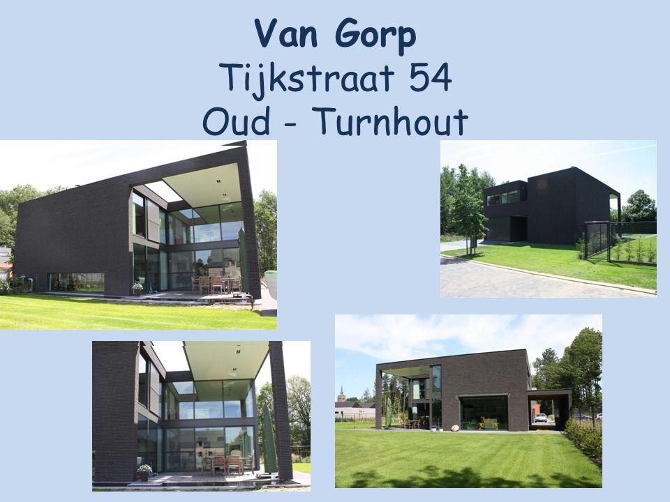 Van Gorp Tijkstraat 54 Oud - Turnhout