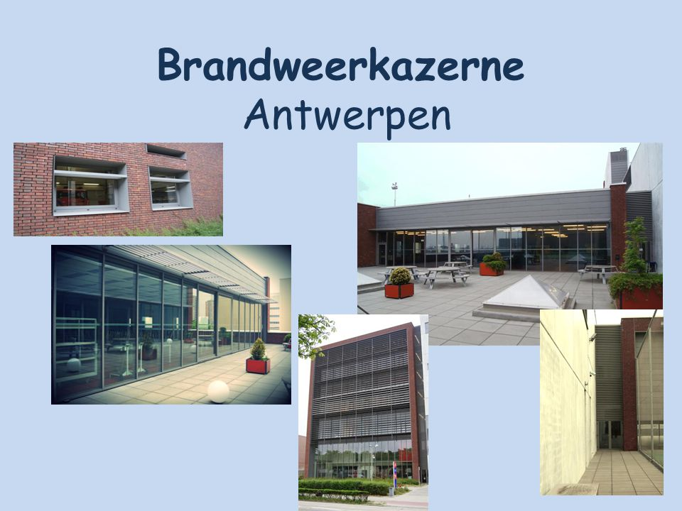 Brandweerkazerne Antwerpen