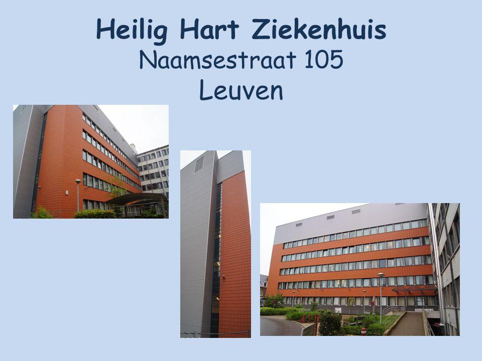 Heilig Hart Ziekenhuis Naamsestraat 105 Leuven