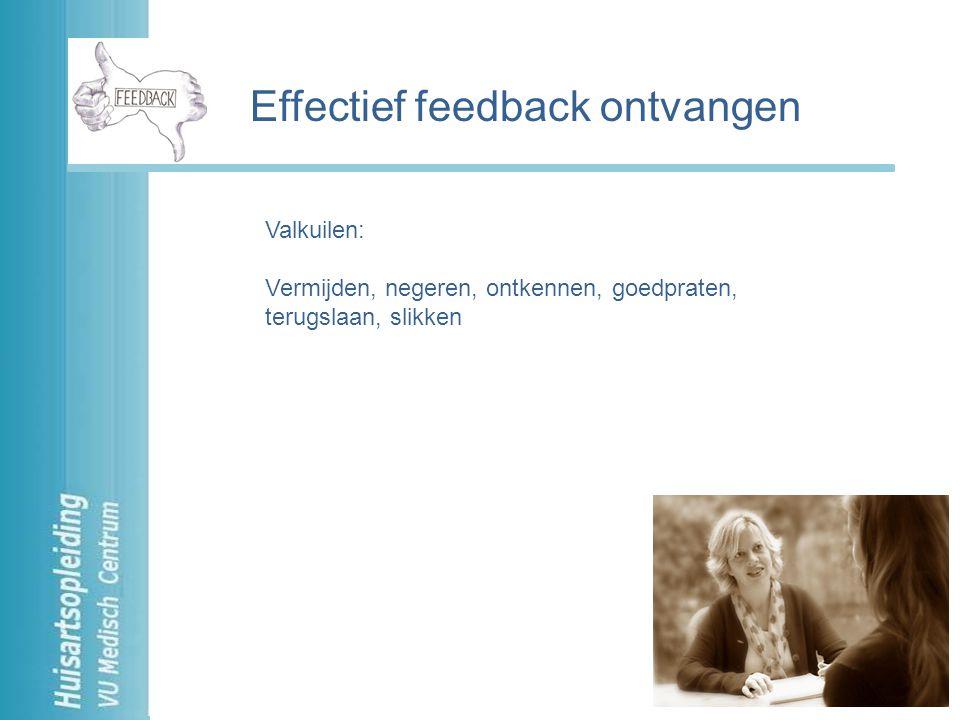 Effectief feedback ontvangen