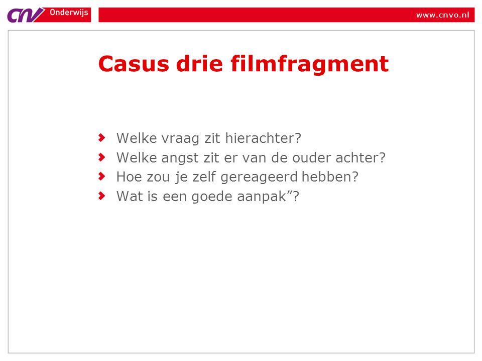 Casus drie filmfragment