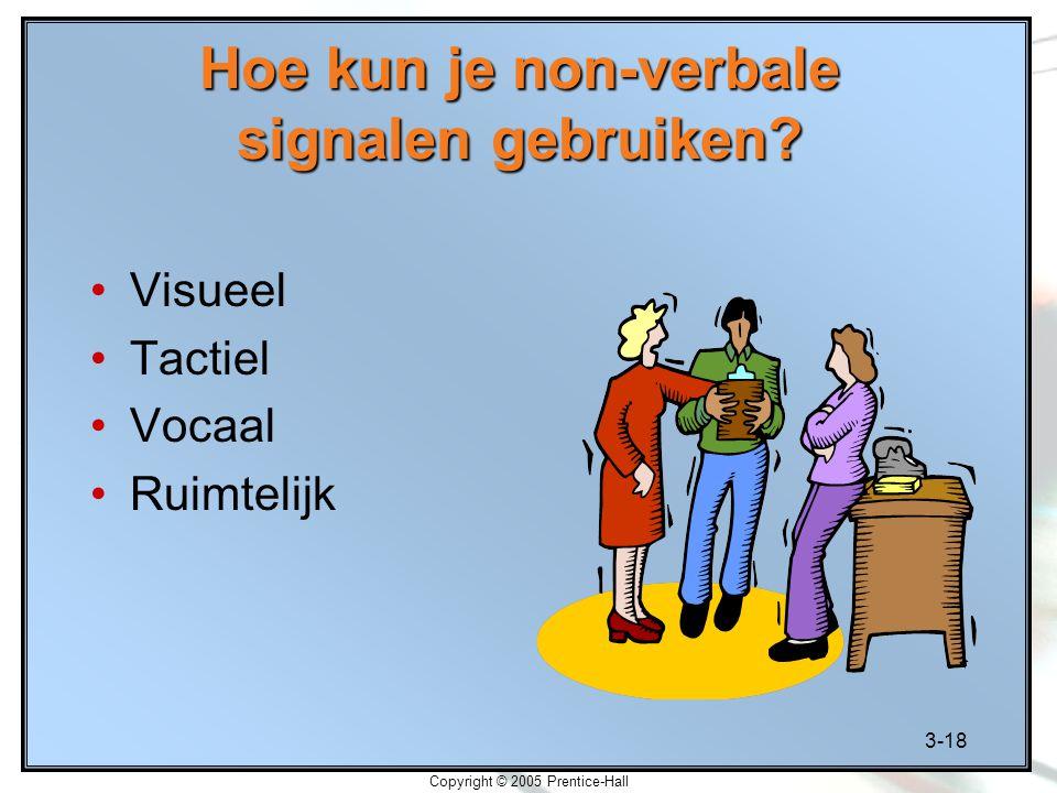 Hoe kun je non-verbale signalen gebruiken