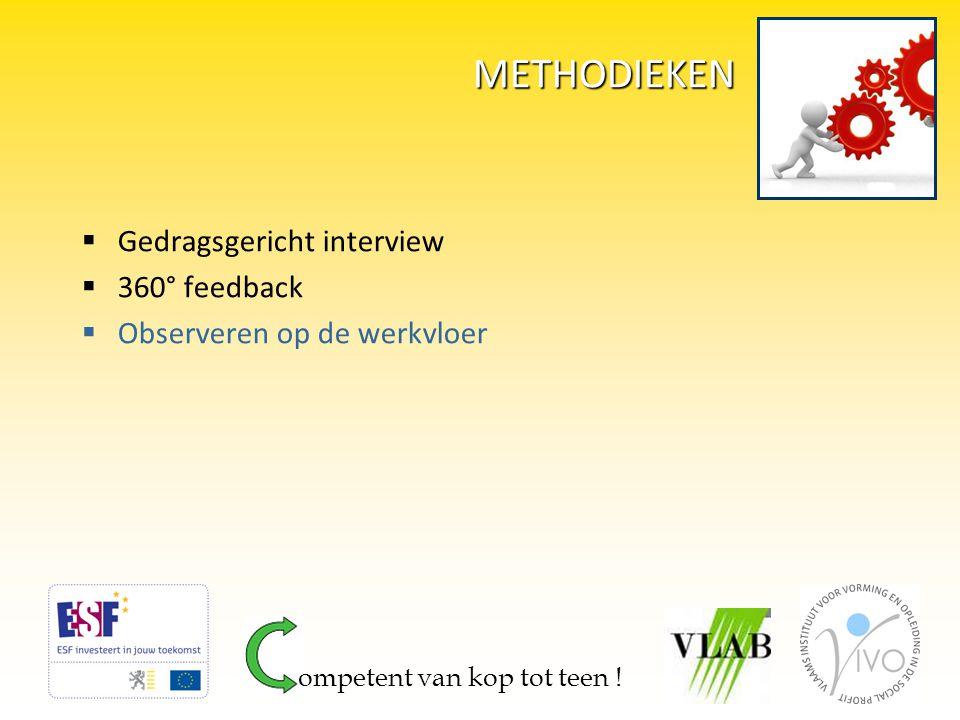 METHODIEKEN Gedragsgericht interview 360° feedback