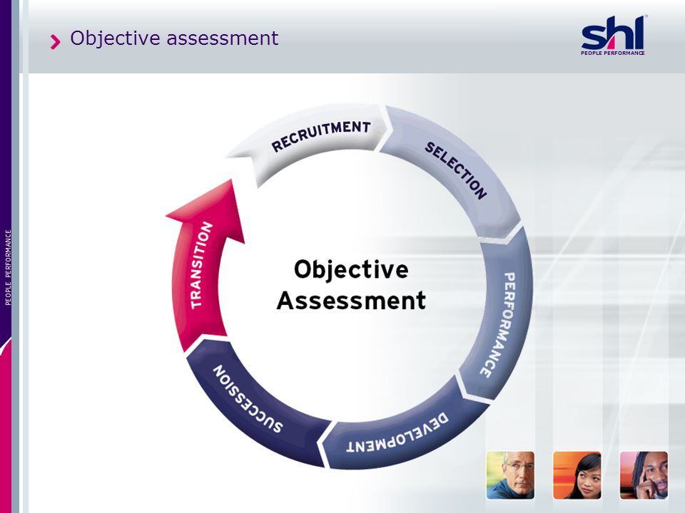 Objective assessment