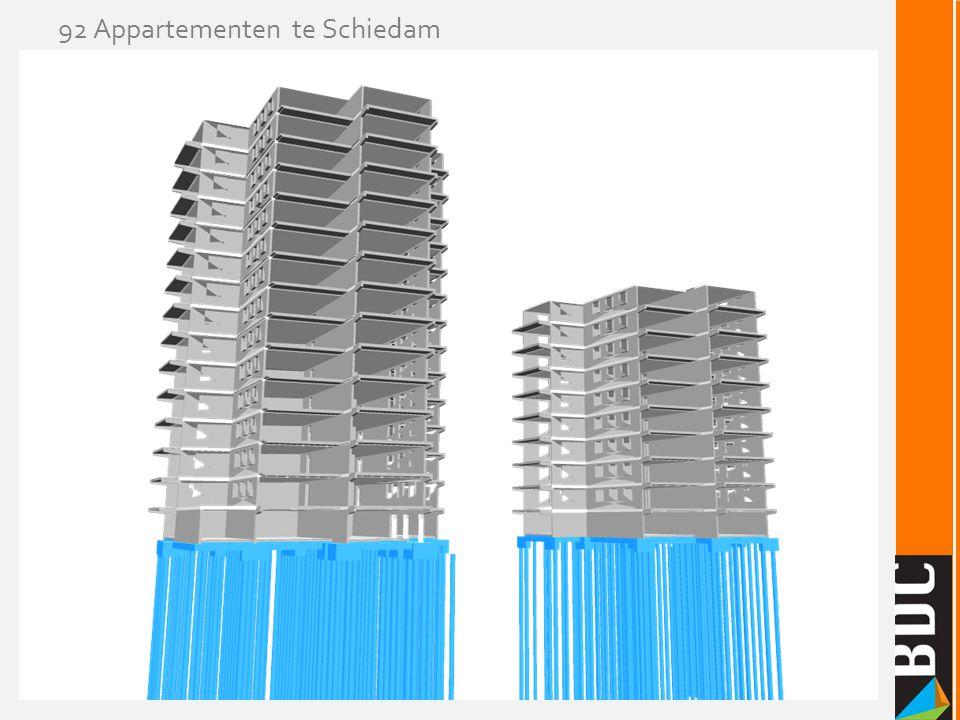 92 Appartementen te Schiedam