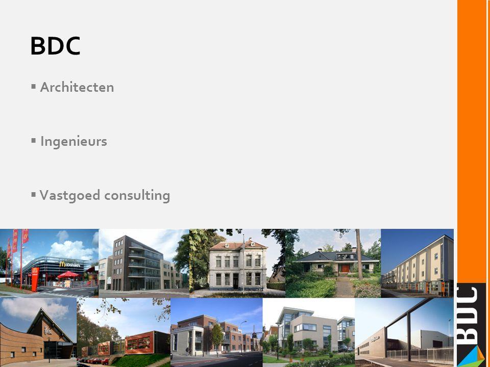 BDC Architecten Ingenieurs Vastgoed consulting Architecten Ingenieurs