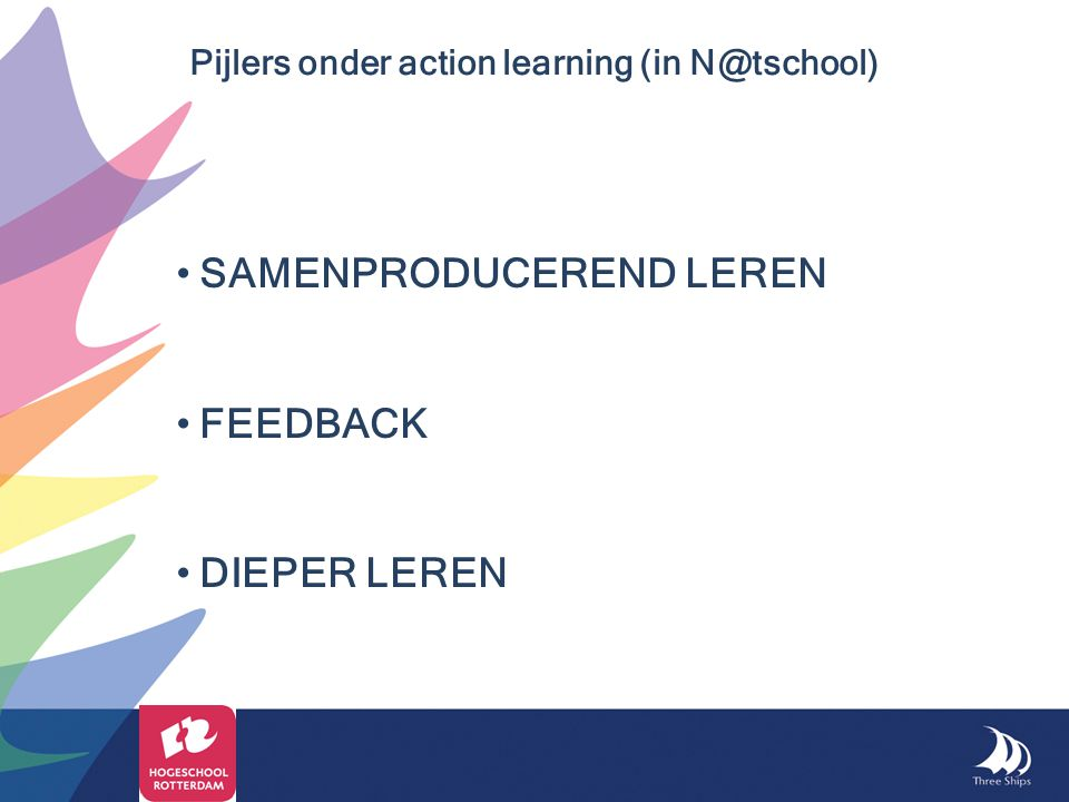 Pijlers onder action learning (in N@tschool)