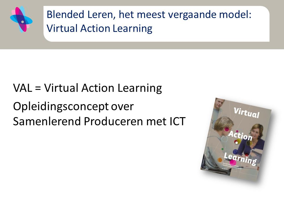 Blended Leren, het meest vergaande model: Virtual Action Learning