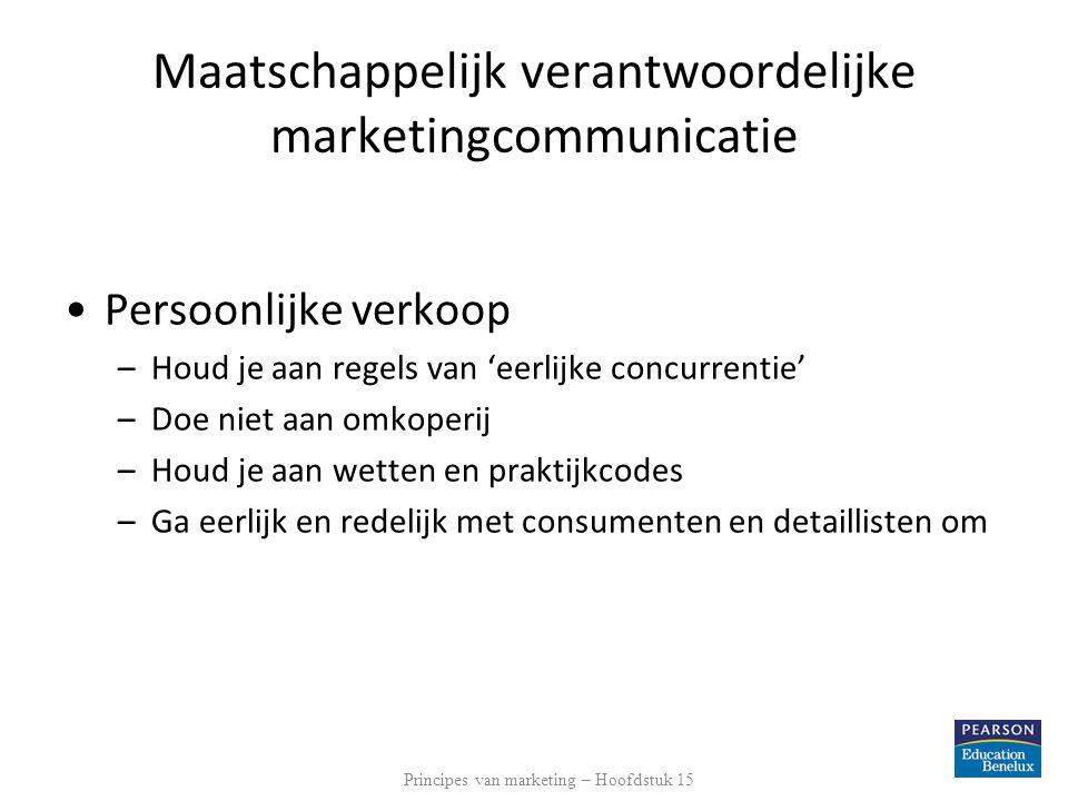 Maatschappelijk verantwoordelijke marketingcommunicatie