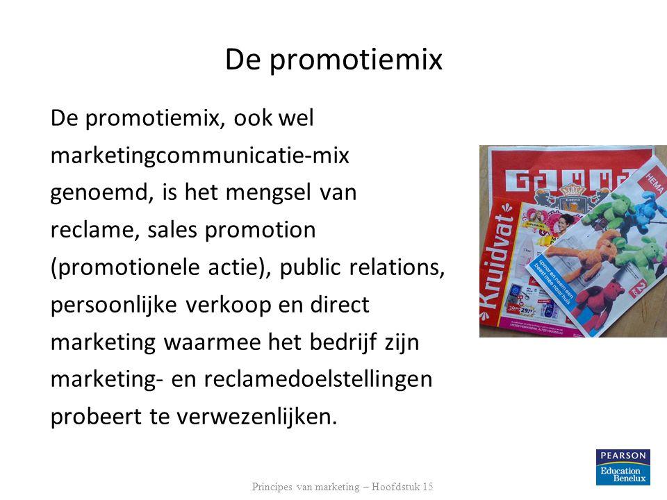 Principes van marketing – Hoofdstuk 15