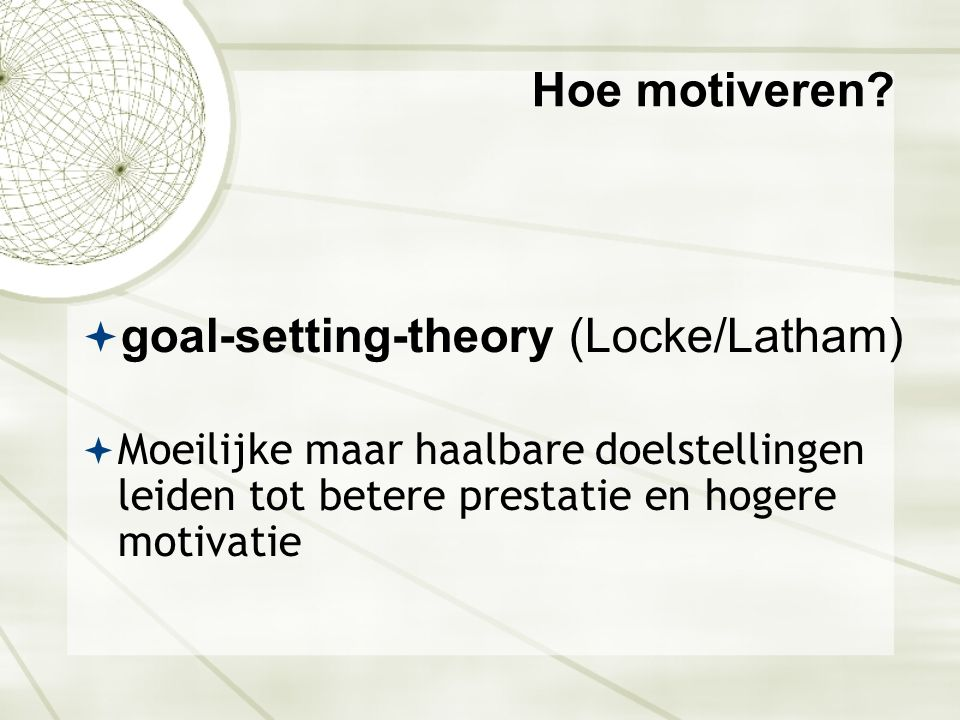 goal-setting-theory (Locke/Latham)