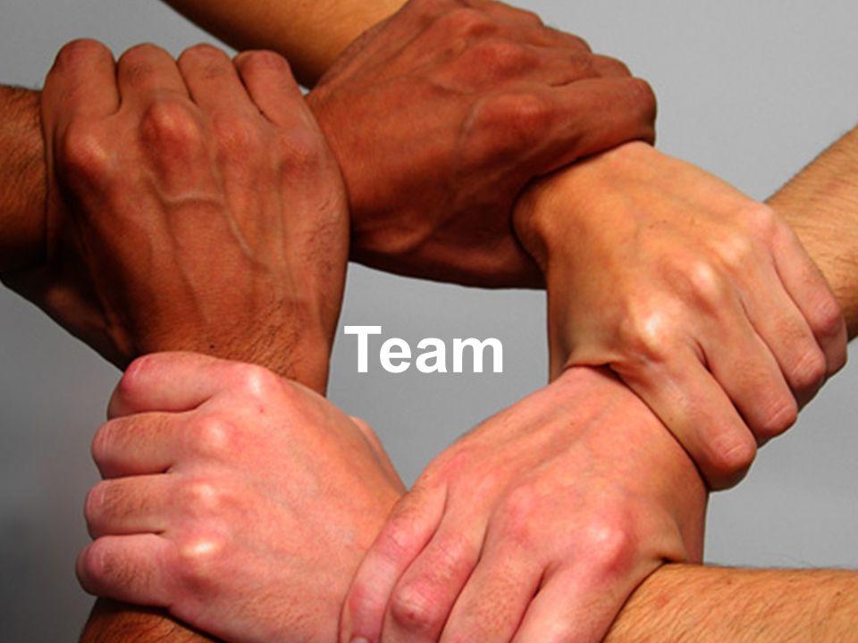 Accountteam Team Wat je wilt is een team waarbij de handen ineen gaan
