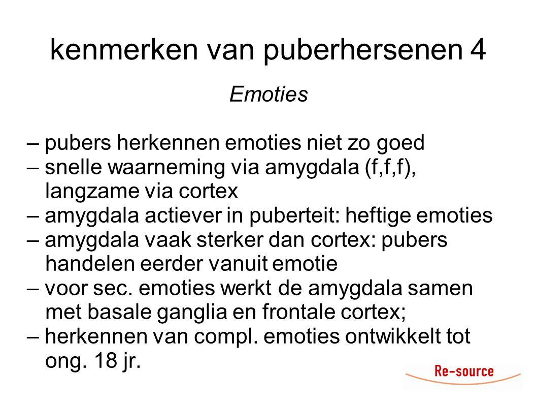 kenmerken van puberhersenen 4