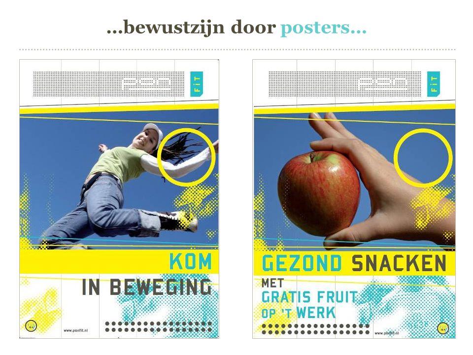 …bewustzijn door posters…