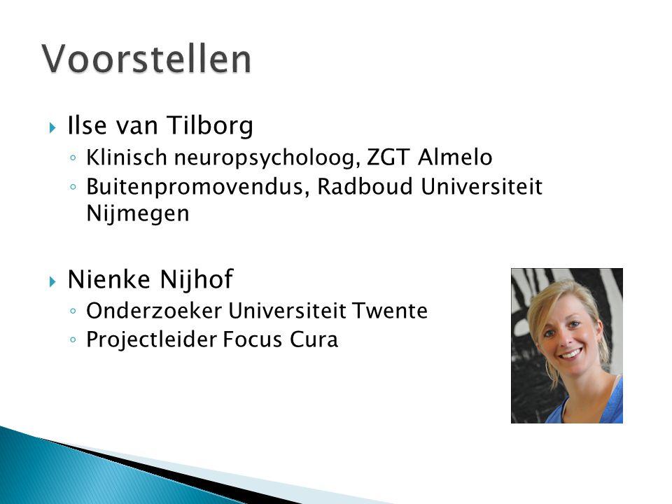 Voorstellen Ilse van Tilborg Nienke Nijhof