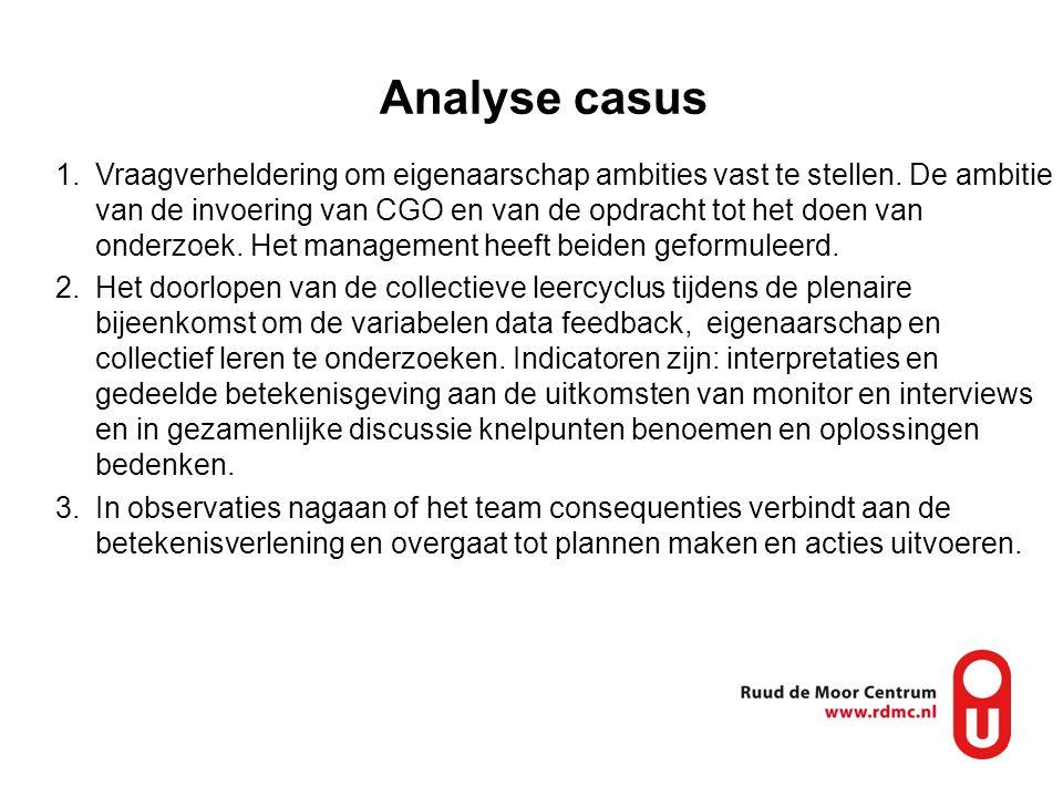 Analyse casus