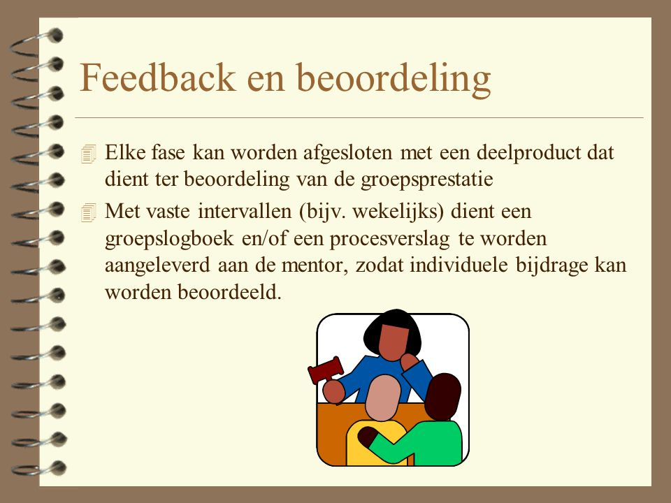 Feedback en beoordeling
