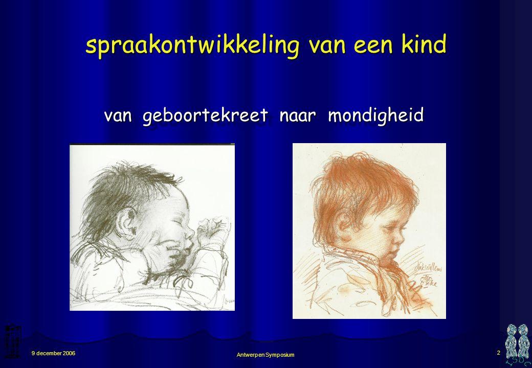 spraakontwikkeling van een kind