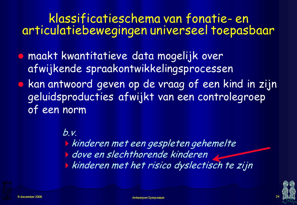 klassificatieschema van fonatie- en articulatiebewegingen universeel toepasbaar