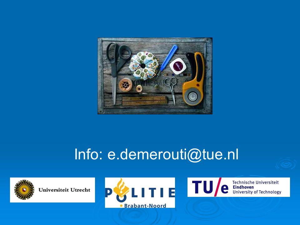 Info: e.demerouti@tue.nl