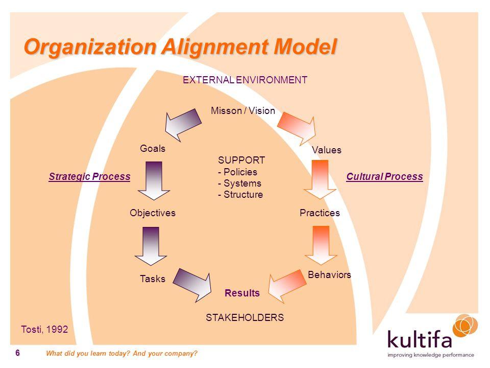 Organization Alignment Model