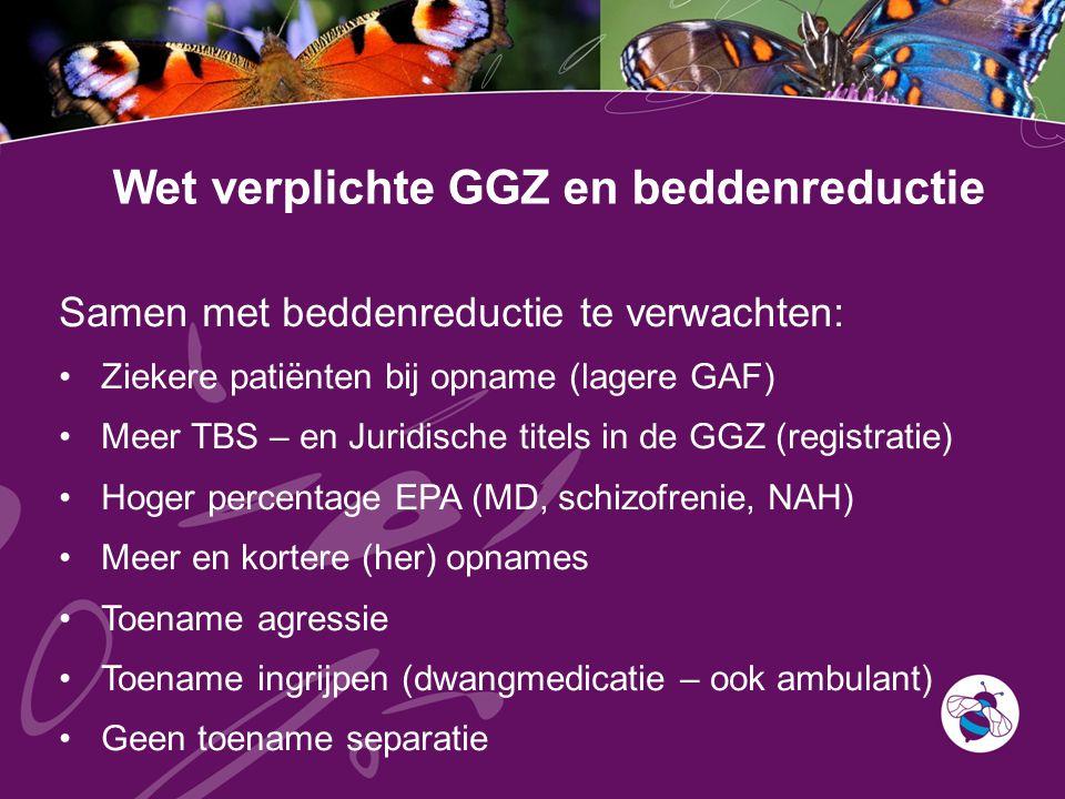 Wet verplichte GGZ en beddenreductie