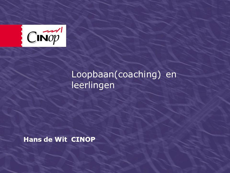 Loopbaan(coaching) en leerlingen