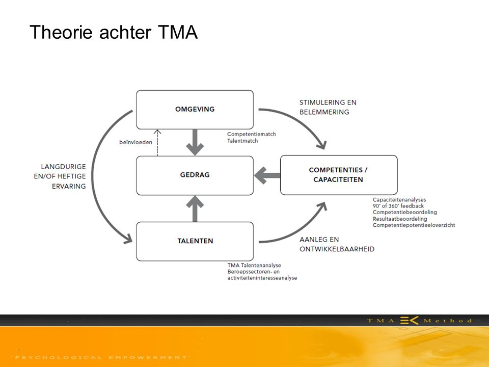 Theorie achter TMA