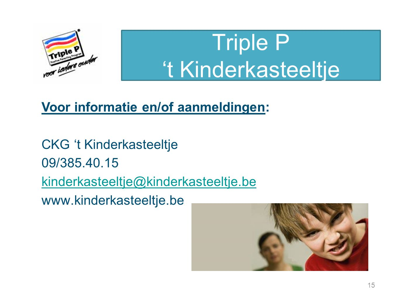 Triple P 't Kinderkasteeltje