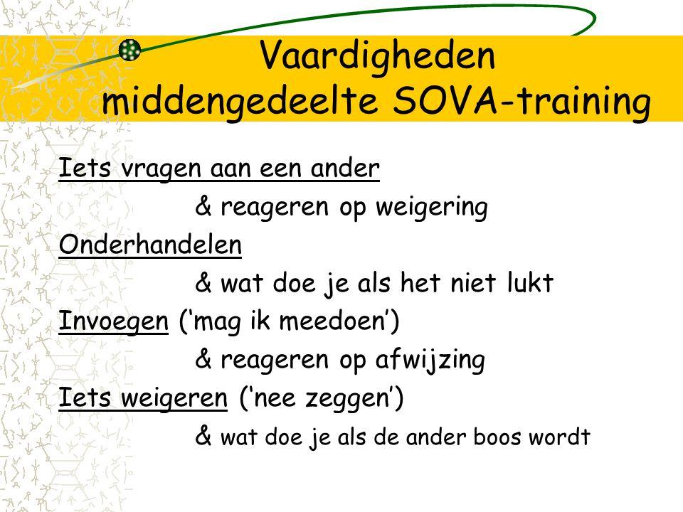 Vaardigheden middengedeelte SOVA-training