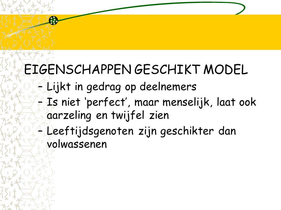 SOVA modelling EIGENSCHAPPEN GESCHIKT MODEL