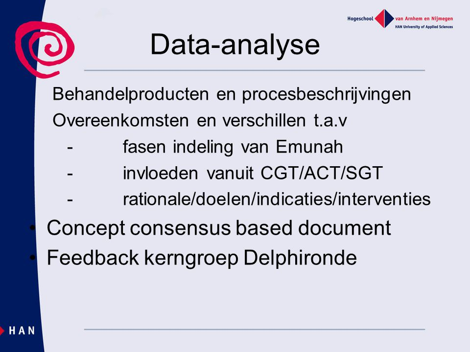 Data-analyse Concept consensus based document