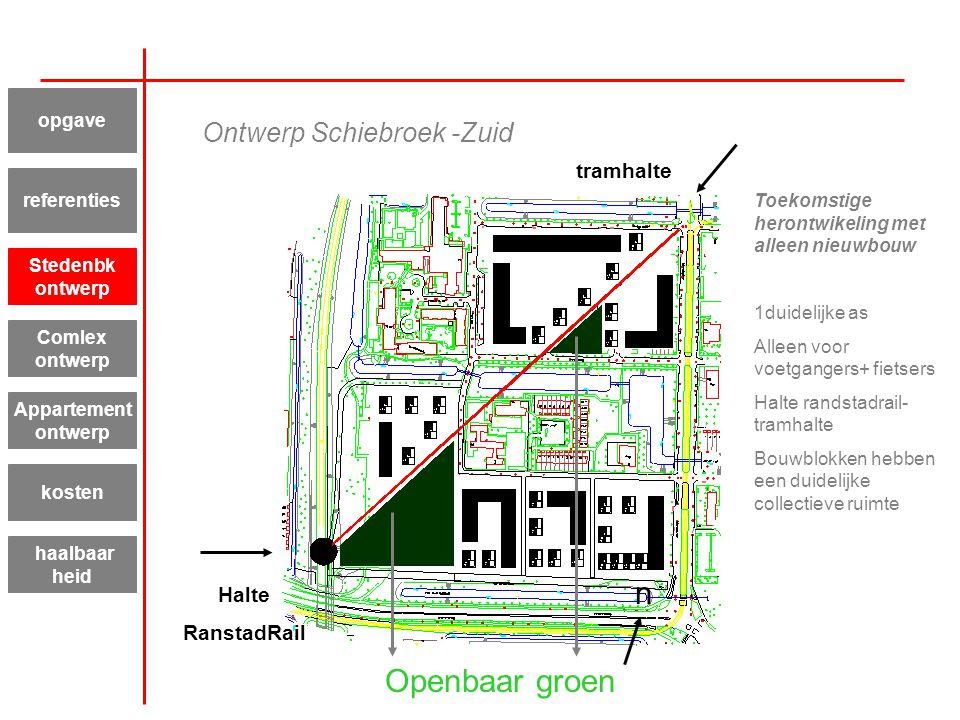 Ontwerp Schiebroek -Zuid