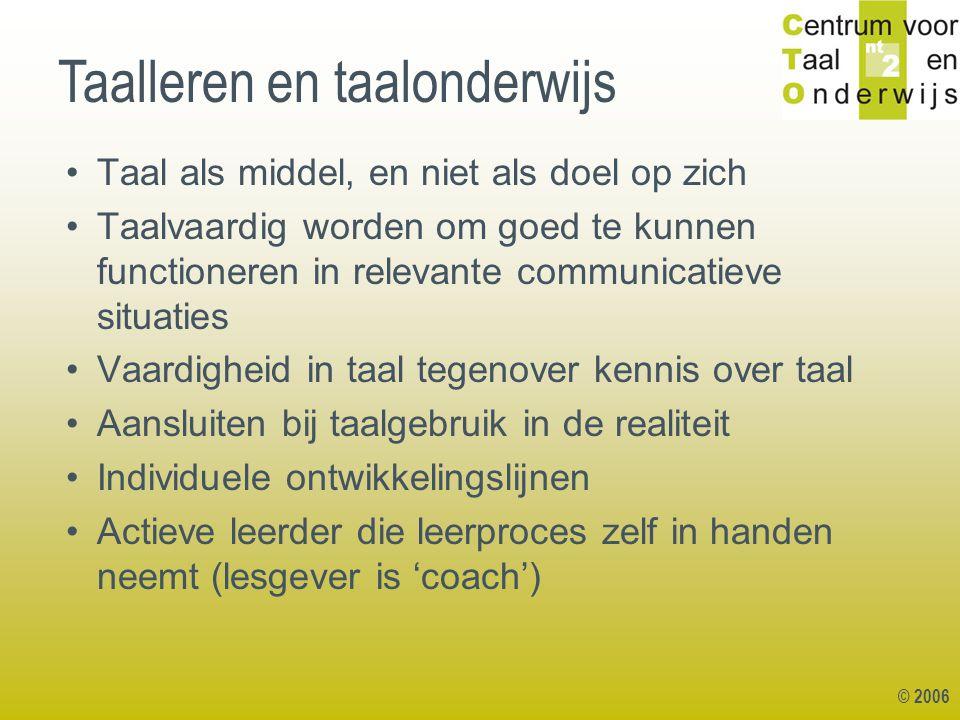 Taalleren en taalonderwijs