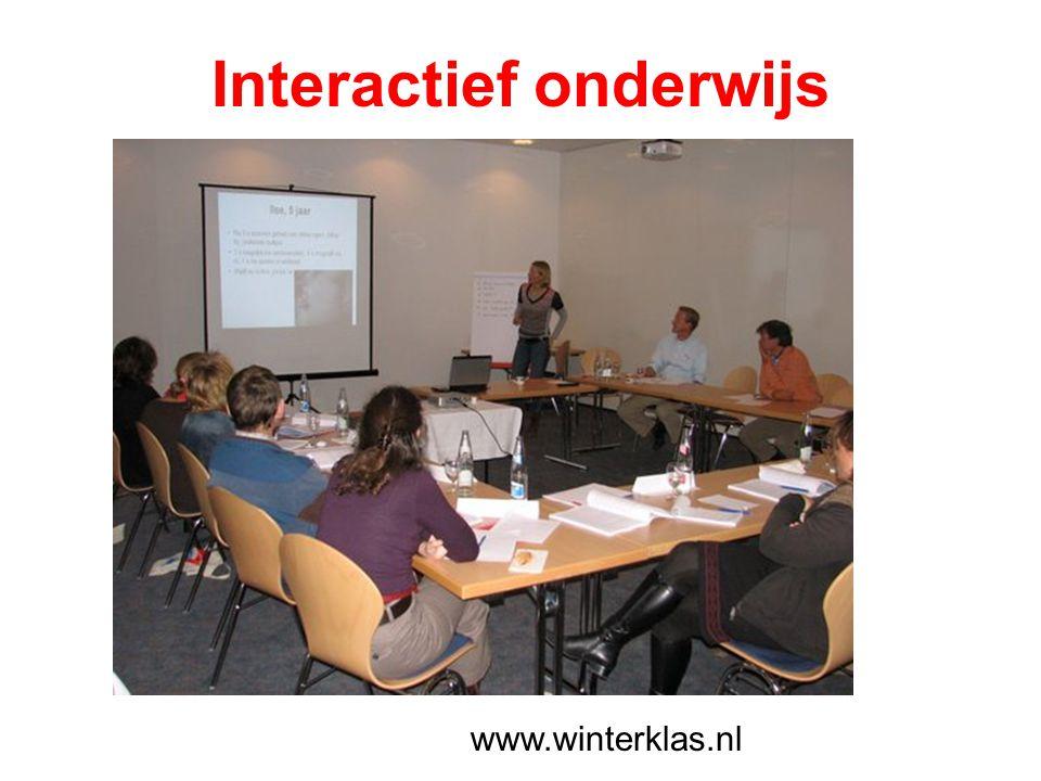 Interactief onderwijs