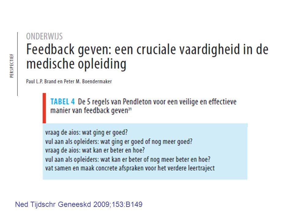 Ned Tijdschr Geneeskd 2009;153:B149