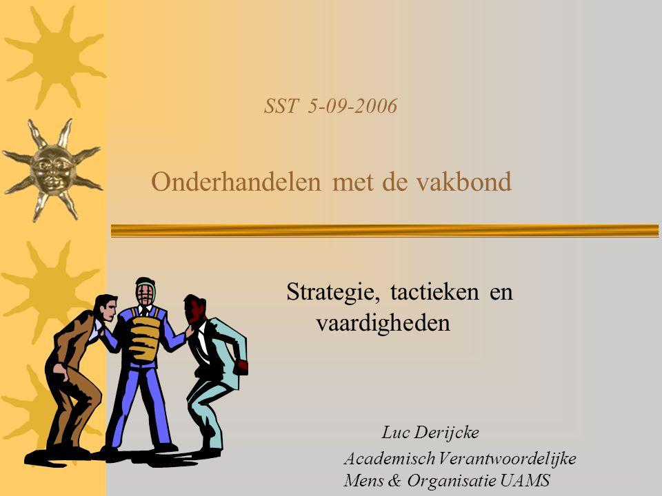 SST 5-09-2006 Onderhandelen met de vakbond