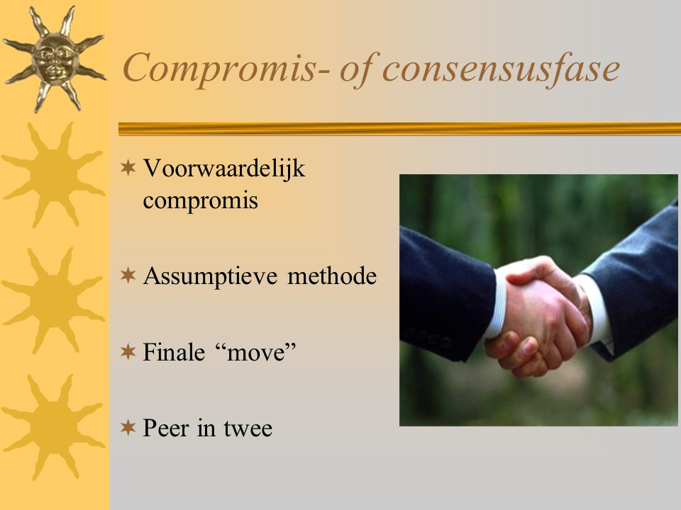 Compromis- of consensusfase