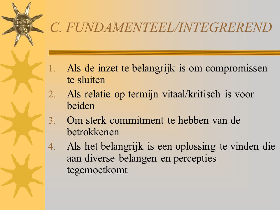 C. FUNDAMENTEEL/INTEGREREND