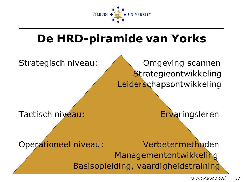 De HRD-piramide van Yorks
