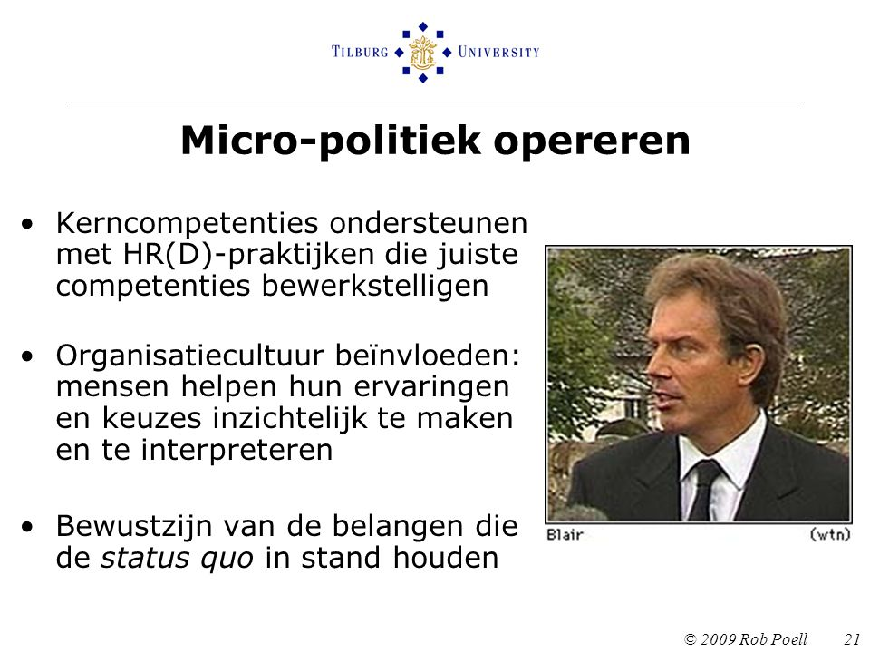 Micro-politiek opereren